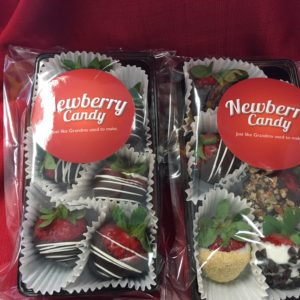 Assorted gourmet chocolate dipped strawberries